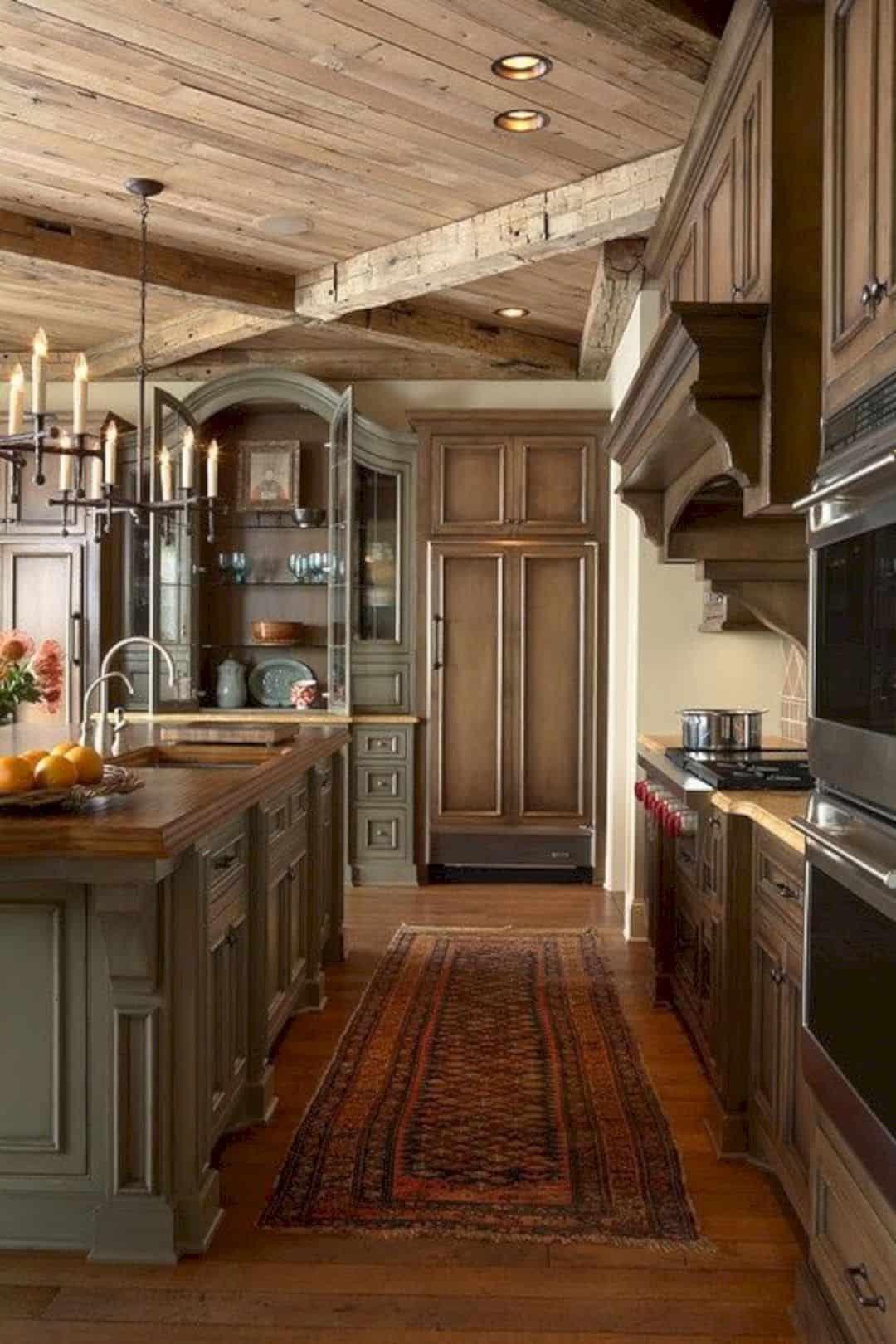 16 Classic Old World Interior Design Ideas Country Kitchen