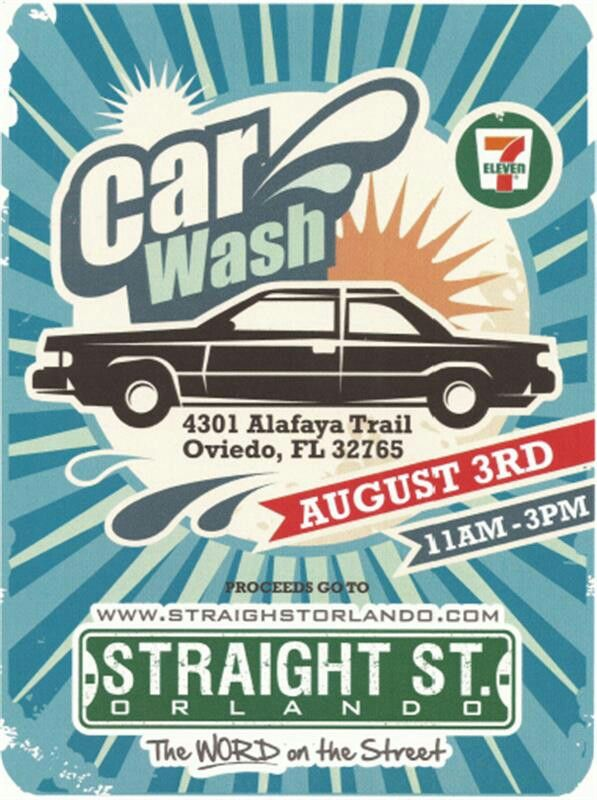Car wash flyer | Design