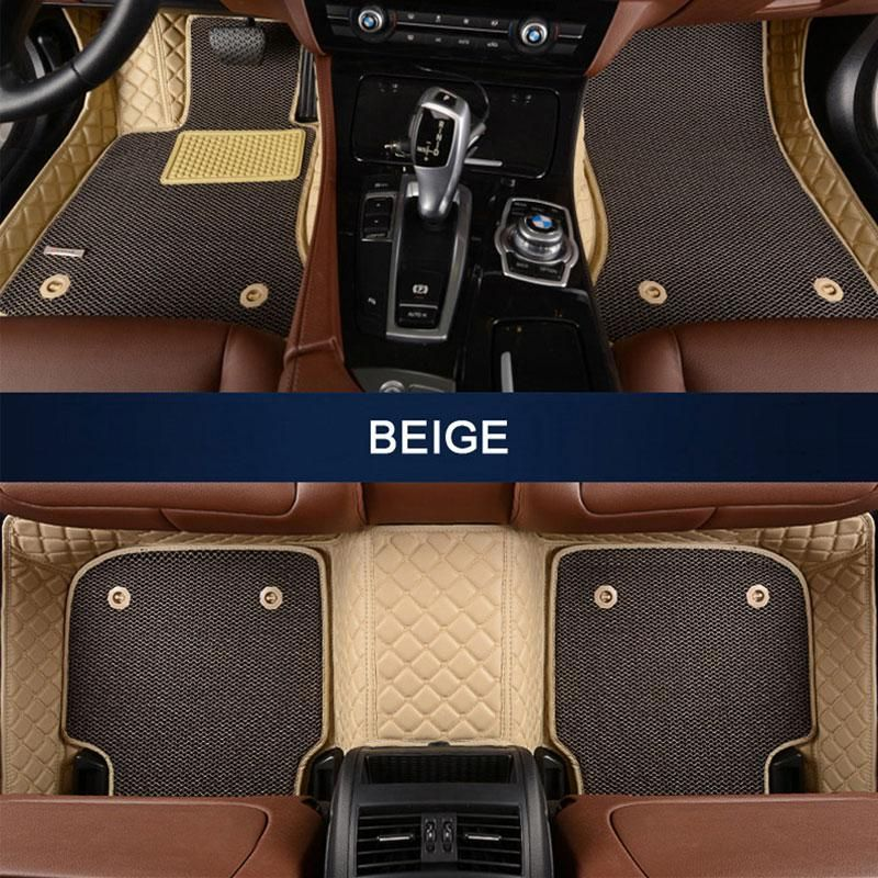Car Floor Mats Pu Leather Fit Maserati Quattroporte Ghibli Levante