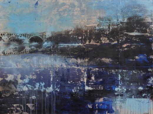 Crossing by Sarah Lapp, Mixed Media | Zatista