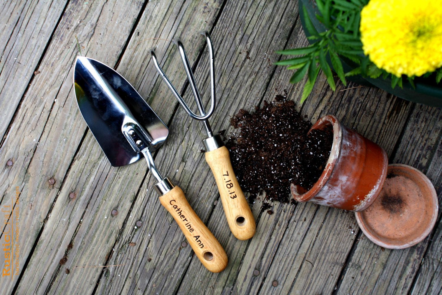 Don't forget the basic gardening tools as you plan your garden.
