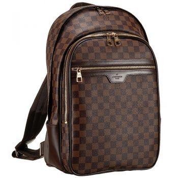 bb3112fb0ed9 Louis Vuitton Damier Ebene Michael Backpack