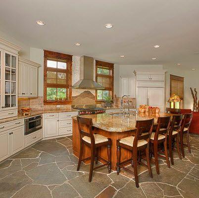 Dise os y tipos de pisos para cocina para que elijas el for Disenos de cortinas para cocina