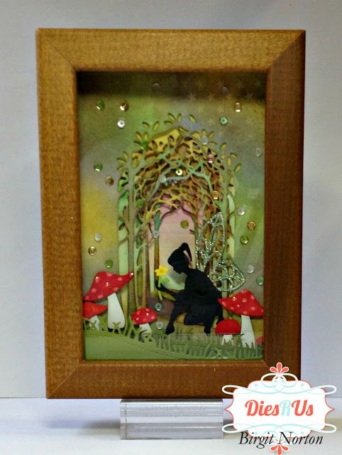 Dies R Us: Fairy Garden Collage