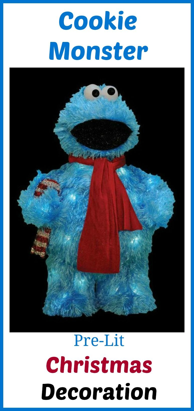 outdoor christmas decorations cookie monster christmas sesame street christmas decorations affiliate - Sesame Street Outdoor Christmas Decorations