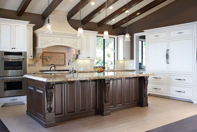 European Style Kitchen » Carpenters Cabinets   French ...