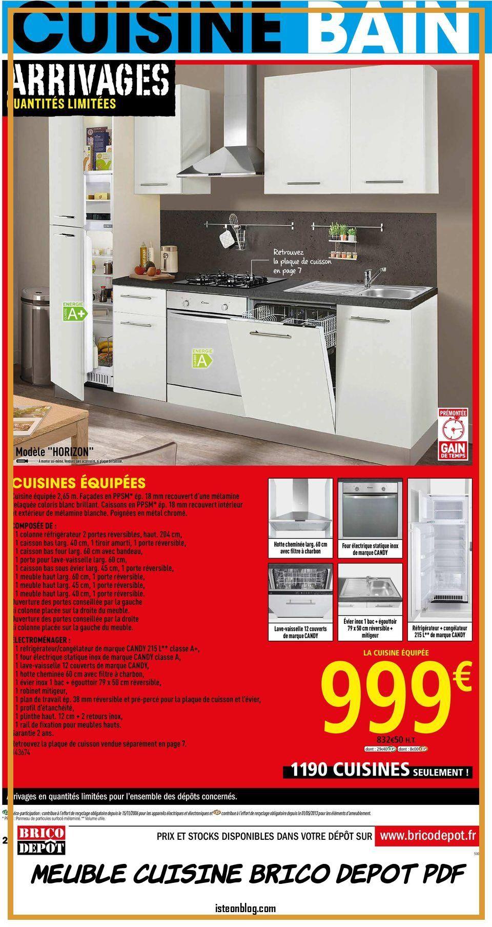 Meuble Cuisine Brico Depot Pdf Facade Meuble Cuisine Meuble Cuisine Meubles De Cuisine Noirs