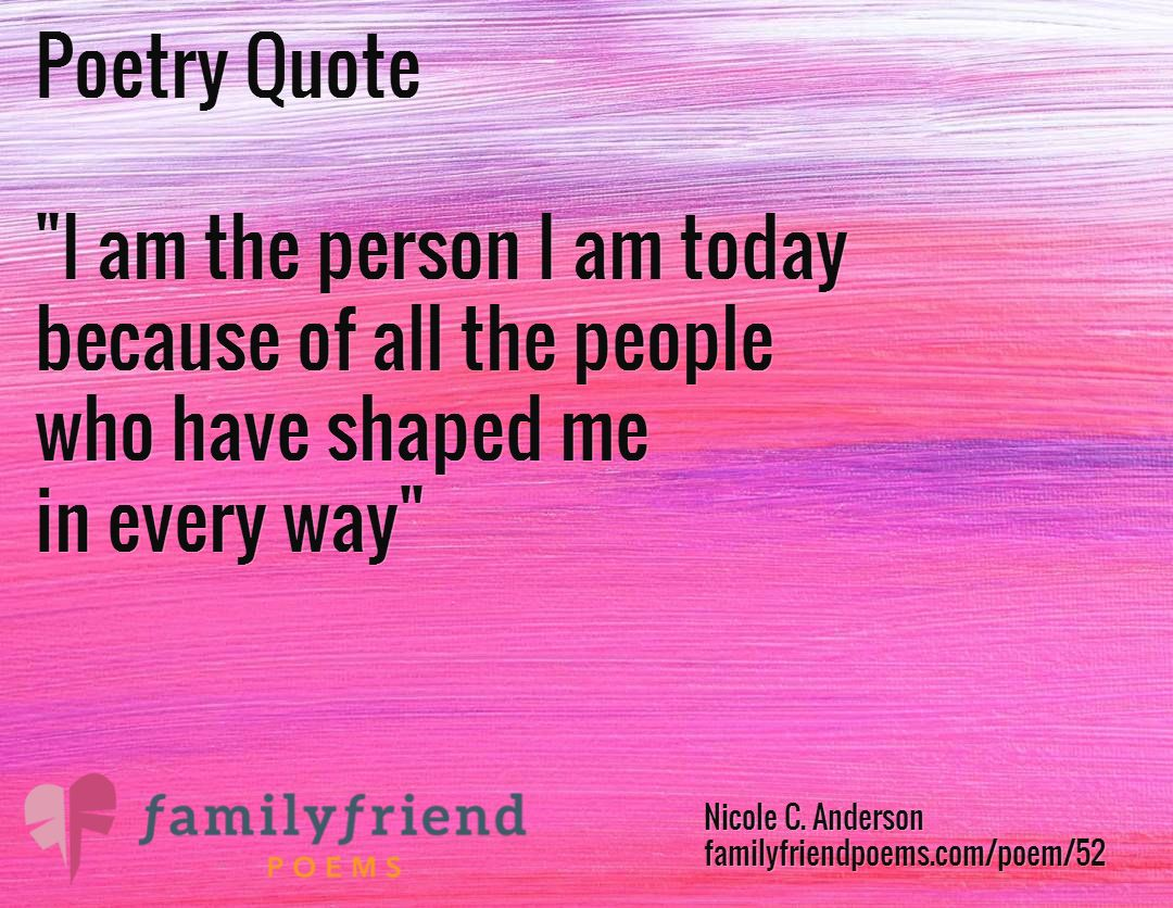 I Love My Family And Friends Poems Poem about Family, Tha...