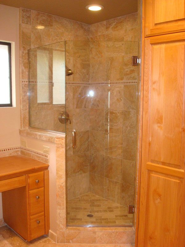 small bathroom remodel Master Bathroom Remodel Marble shower