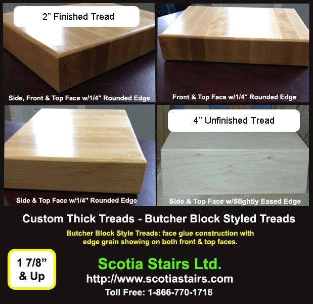 We Manufacture Many Thick Stair Tread Options To Meet Your Needs Stair Treads Wood Stair Treads Treads And Risers
