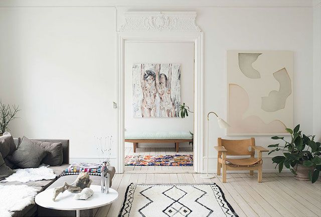 A Lovely Danish Apartment In Neutrals (my scandinavian home