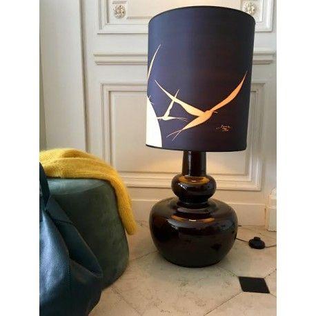 Grande lampe à poser 80u0027s du0027occasion vintage, design, scandinave - porte d entree d occasion