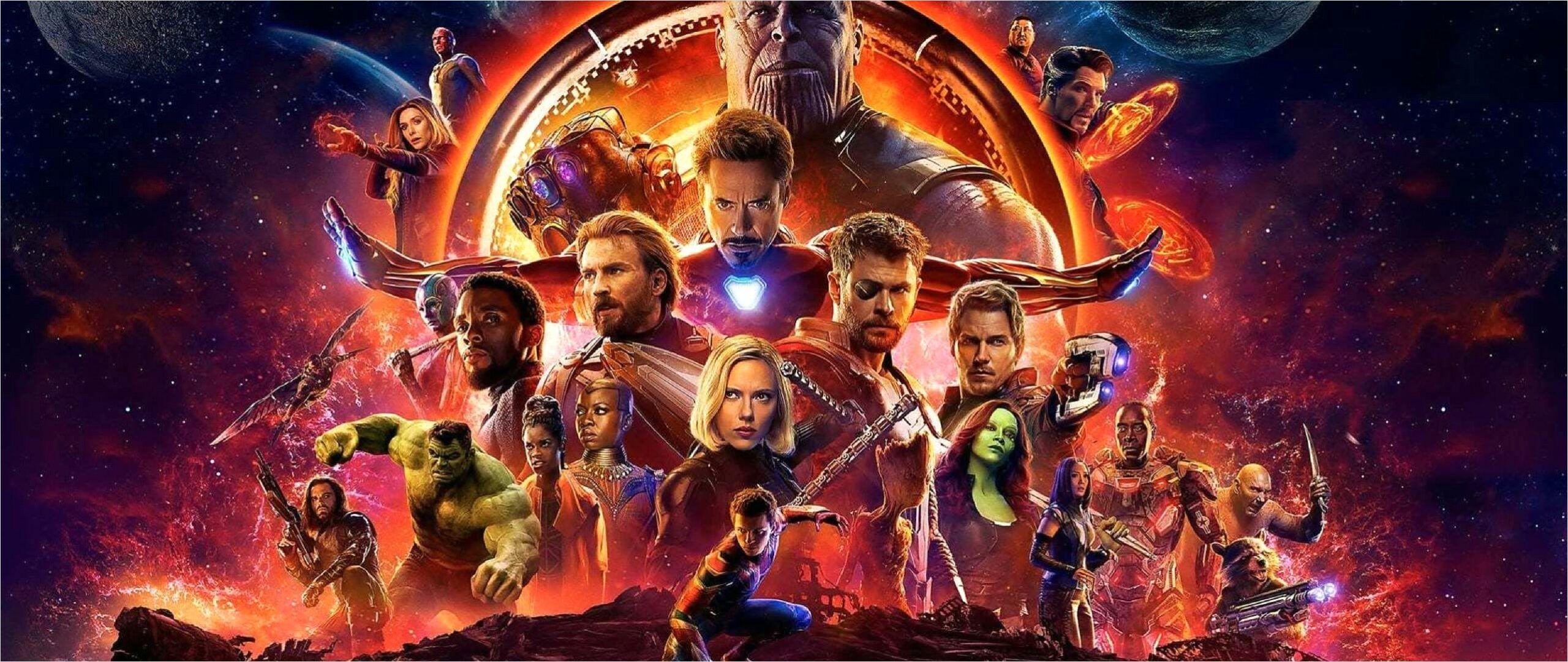 4k Dual Monitor Wallpapers Infinity War In 2020 Infinity War