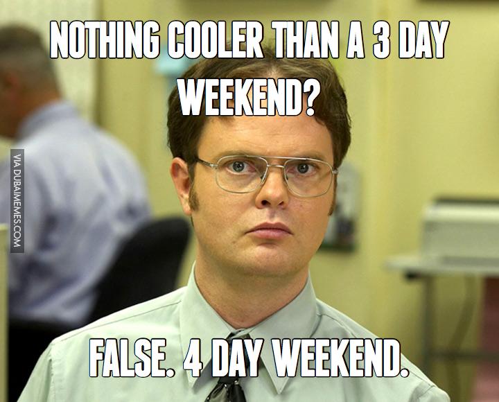 Long weekend #3dayweekendhumor Long weekend ...