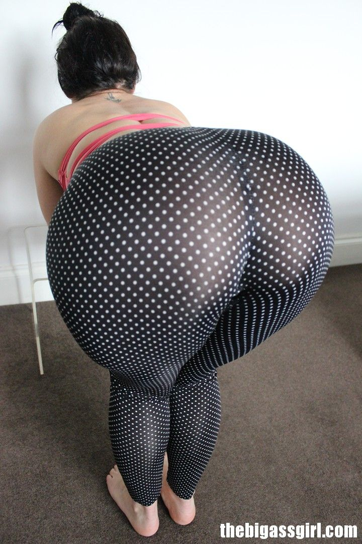 Wanna arsch in leggings watch you