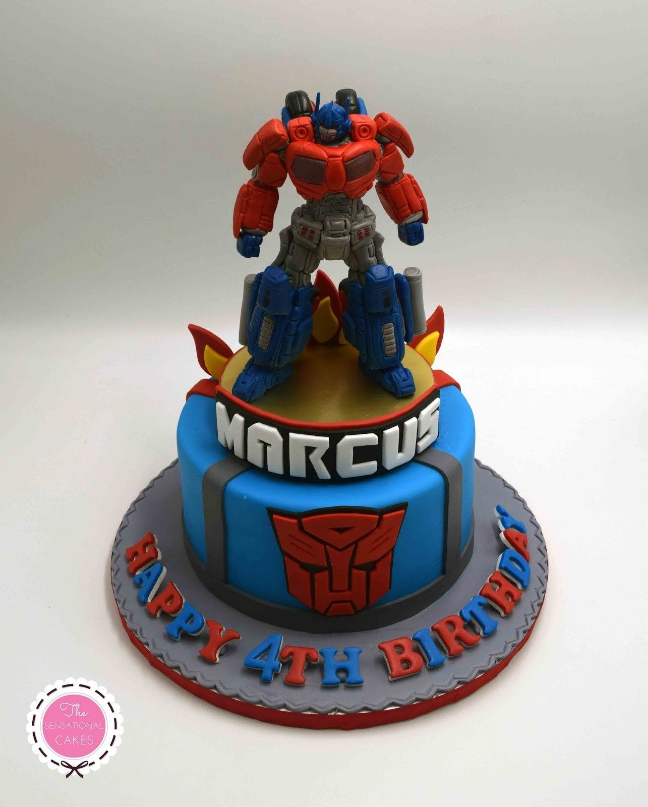 Transformer Birthday Cake The Sensational Cakes Transformers Concept Boy 3d
