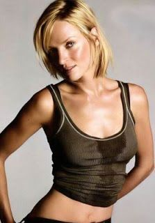 Uma Thurman Short Hair Google Search Oval Face Hairstyles Oval Face Shapes Sharon Stone Hairstyles