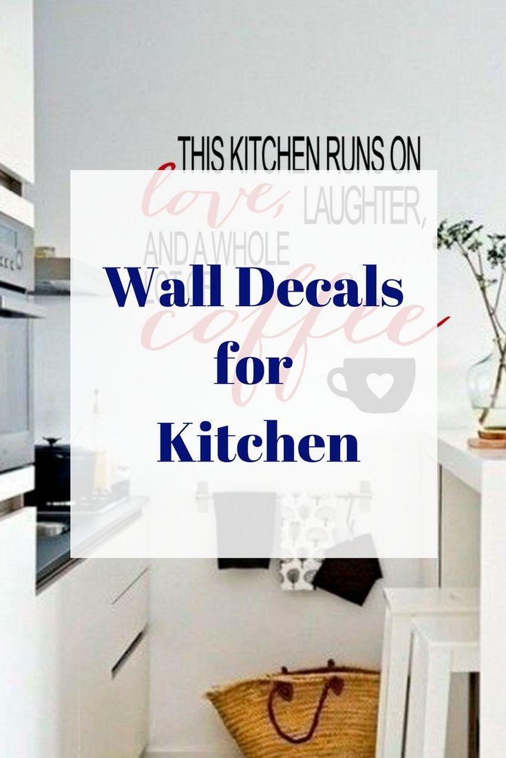 Kitchen wall decalskitchen wall decorkitchen quote decalkitchen