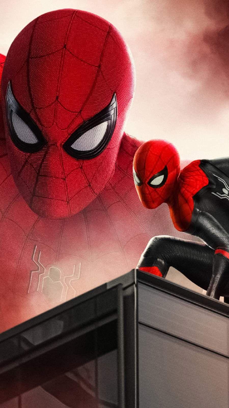 Spider Man Far From Home Art IPhone Wallpaper wallpaper
