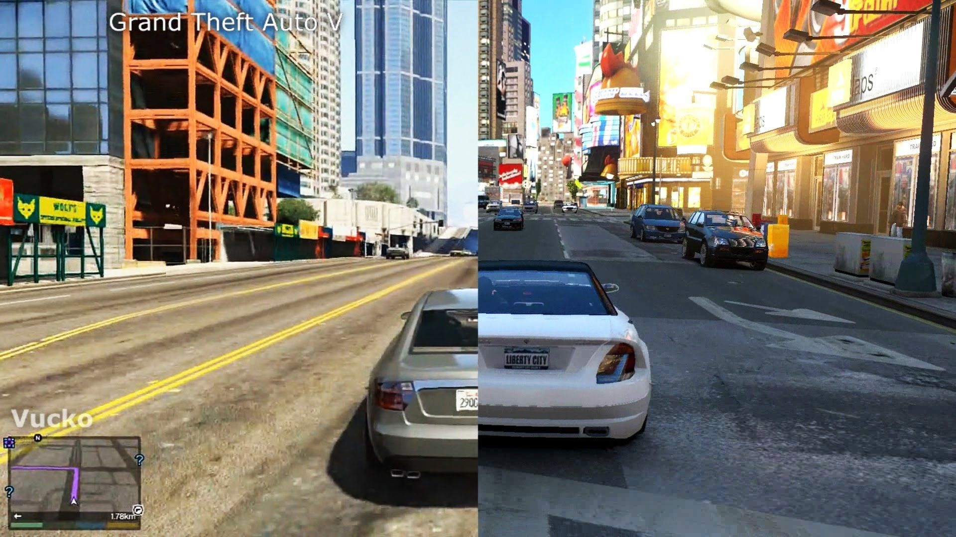 Grand Theft Auto 4 Vs Grand Theft Auto 5 Gta 4 Vs Gta 5 Gameplay Comparison Grand Theft Auto 4 Grand Theft Auto Gta