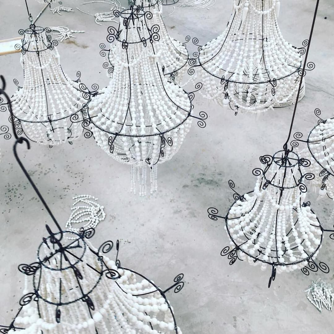 The South Africa Original Mud Clay Beaded Chandeliers Are Now