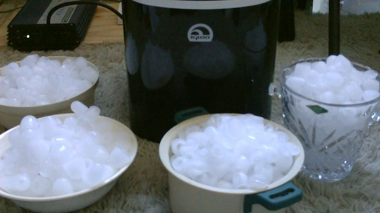 DIY Solar Ice Maker - solar powered 'off grid' ice maker - easy to set up! - use HFT panels
