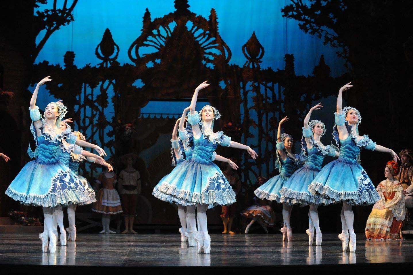 Artists of The Australian Ballet in Coppélia. Photography Branco Gaica