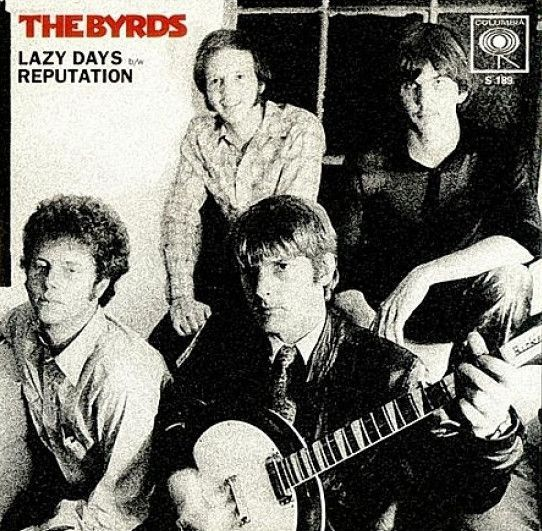 "The Byrds - Lazy Days/Reputation on Mono 45RPM 7"" Vinyl"