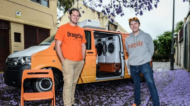 Orange Sky Laundry Offers Free Washing Service For Sydney S