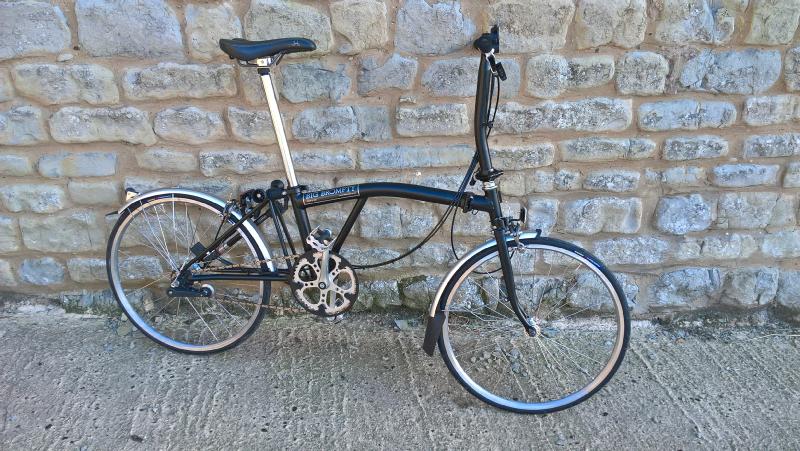 Big Wheeled Brompton 24 Inch Wheels Brompton Vintage Bikes
