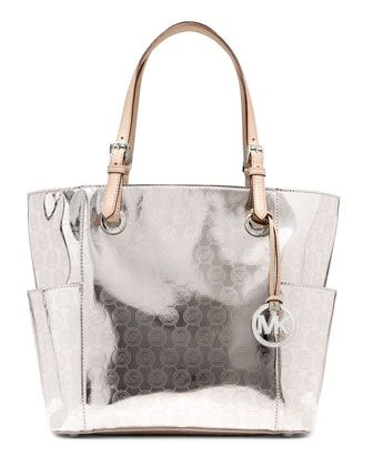 f0b1406876f4 MICHAEL Michael Kors Jet Set Signature Monogram Tote. | IN THE BAG ...