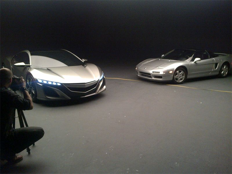 Acura Nsx Old And New New Luxury Cars Acura Nsx Old And New