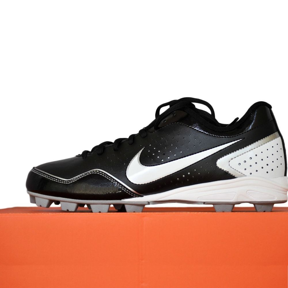 Nike Keystone Baseball Cleats Low Molded Black White Men s Shoes size 8 NIB   Nike c7982bade
