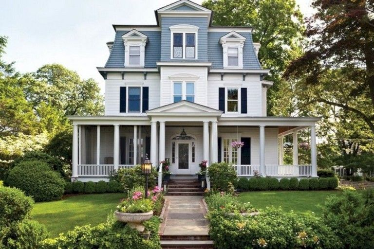 45 Beautiful Victorian Home Exterior Style Victorian Homes Exterior Modern Victorian Homes Victorian Homes