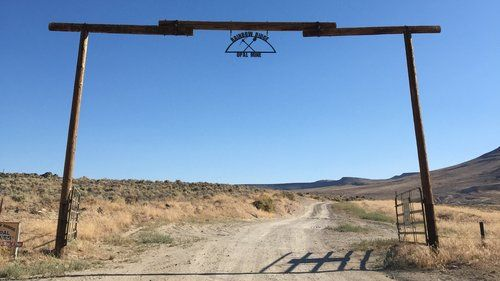 Rainbow Ridge Opal Mine Entrance