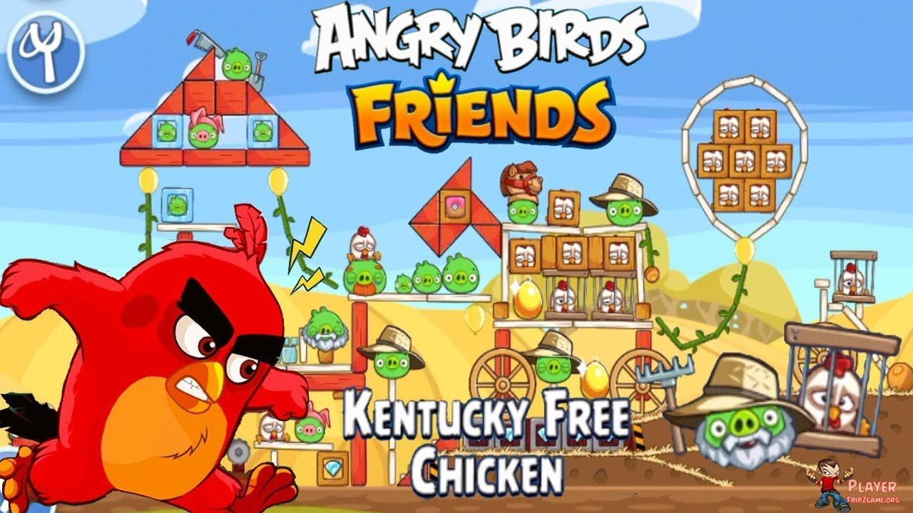 Angry Birds Friends Tournament Kentucky Free Chicken Walkthrough