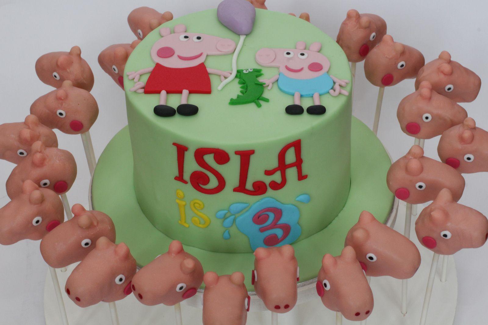 peppa cake & pops | Flickr - Photo Sharing!