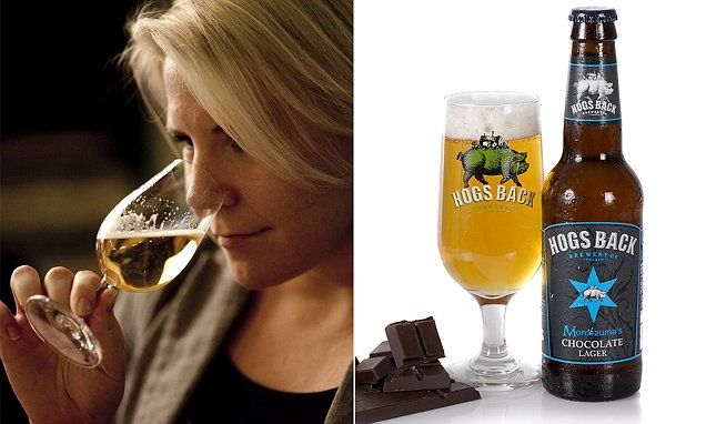 The UK's first chocolate lager goes on sale