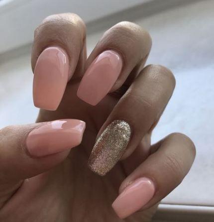 nails stiletto natural hair colors 54 ideas  nail art