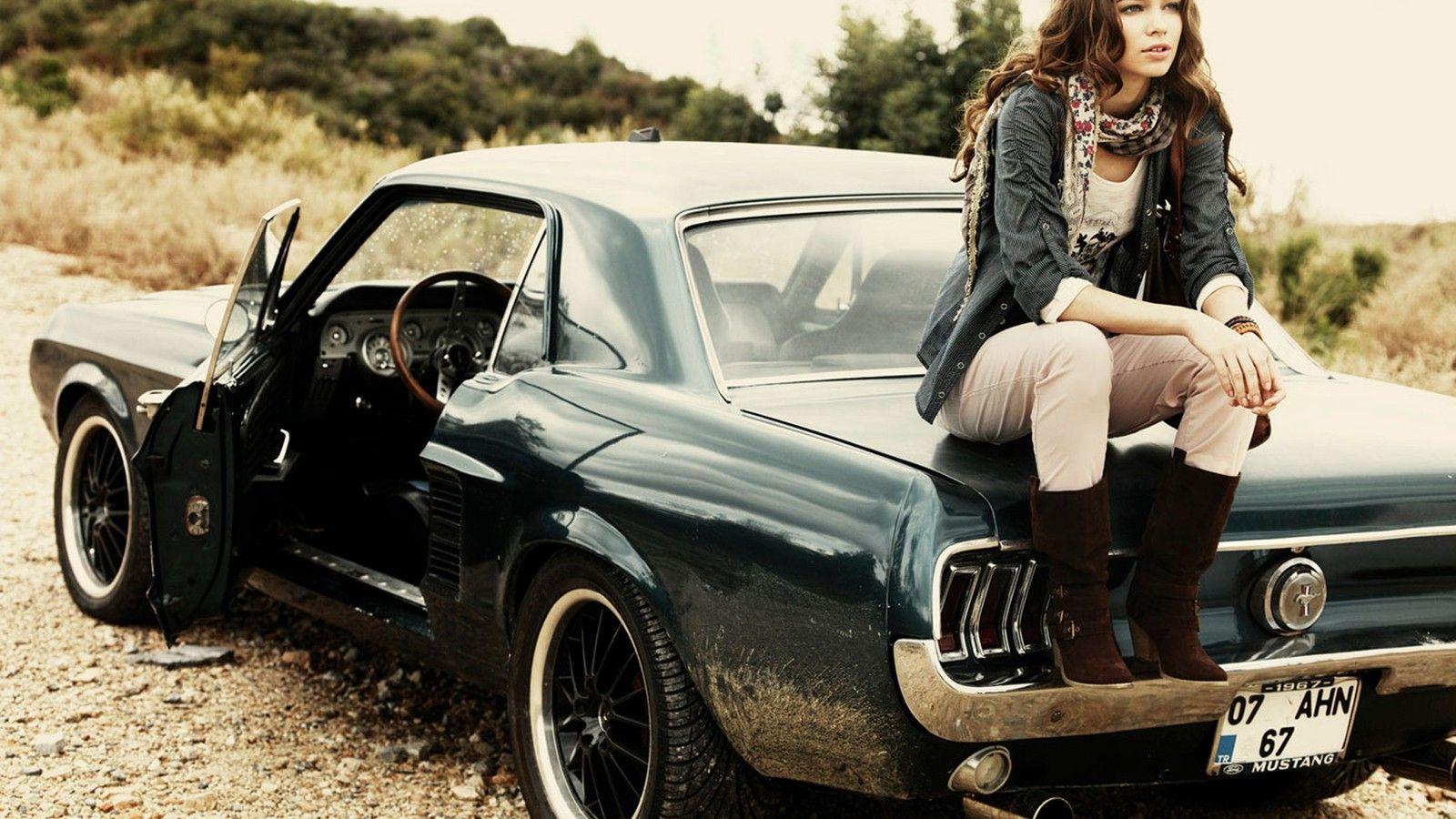 Rustic Mustang Mustang Girl Ford Mustang 1967 Mustang