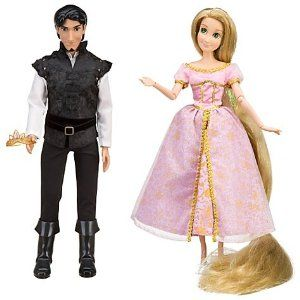 Disney Tangled Exclusive Rapunzel Flynn Rider Celebration Doll Set Outfits From The Ending Of Tangled Flynn Rider Costume Disney Princess Dolls Doll Sets