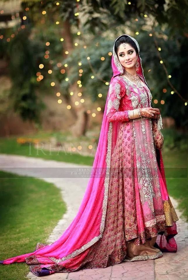 Pakistani & Indian Fashion Bridal Wedding Gowns Designs Collection ...