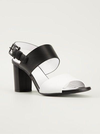 Jil Sander - chunky heel sandals 6