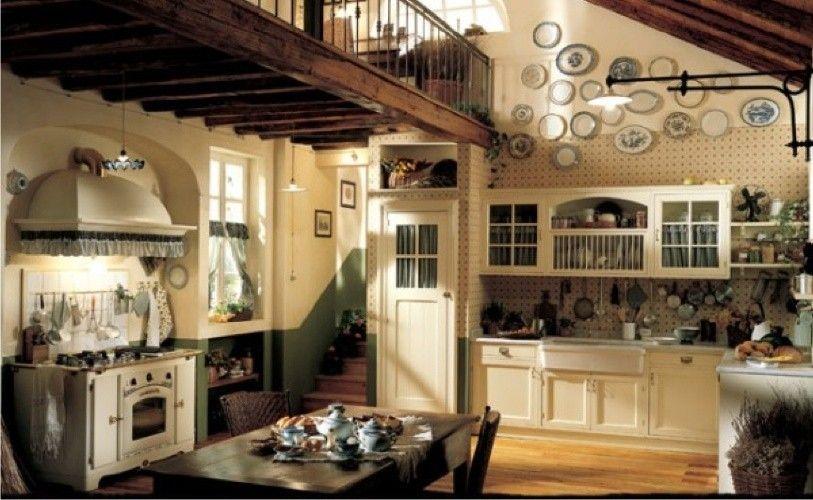 arredare la taverna taverna kitchen decor country