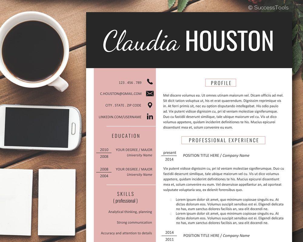 editable cv template  modern resume template word  resume