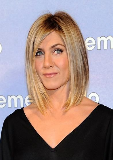 Jennifer Aniston Lob FunPict Hair And Make Up