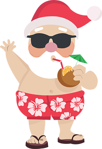 Natal Personagens Desenhos Animados De Natal Natal Australiano