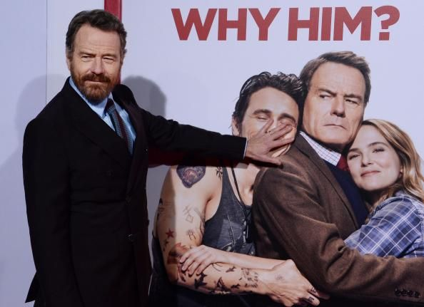 James Franco Zoey Deutch And Bryan Cranston Attend The