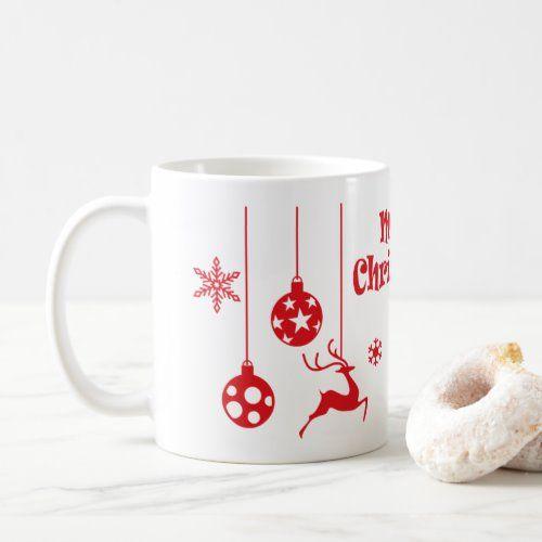 Merry Christmas Vintage Reindeer gift Coffee Mug   christmas decor ideas diy, free christmas decorations, fall to christmas decor #christmasshopping #christmasdecoration #christmasornaments