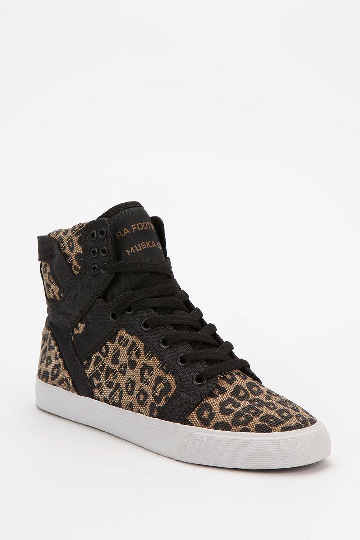 SUPRA Leopard Print SkyTop High-Top